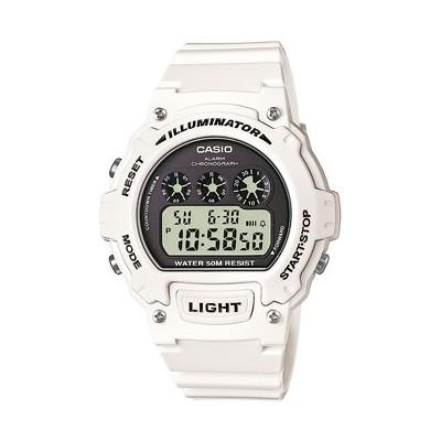 orologio digitale uomo Casio CASIO COLLECTION W-214HC-7AVEF
