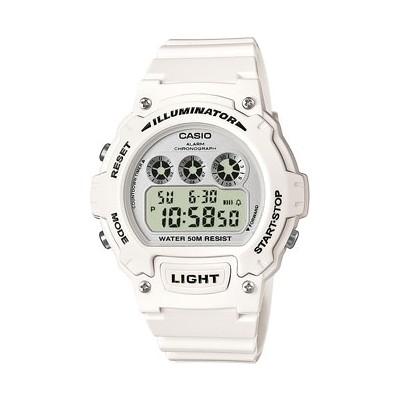 orologio digitale uomo Casio CASIO COLLECTION W-214HC-7BVEF