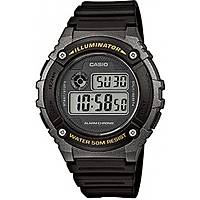 orologio digitale uomo Casio CASIO COLLECTION W-216H-1BVEF