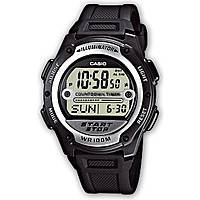 orologio digitale uomo Casio CASIO COLLECTION W-756-1AVES