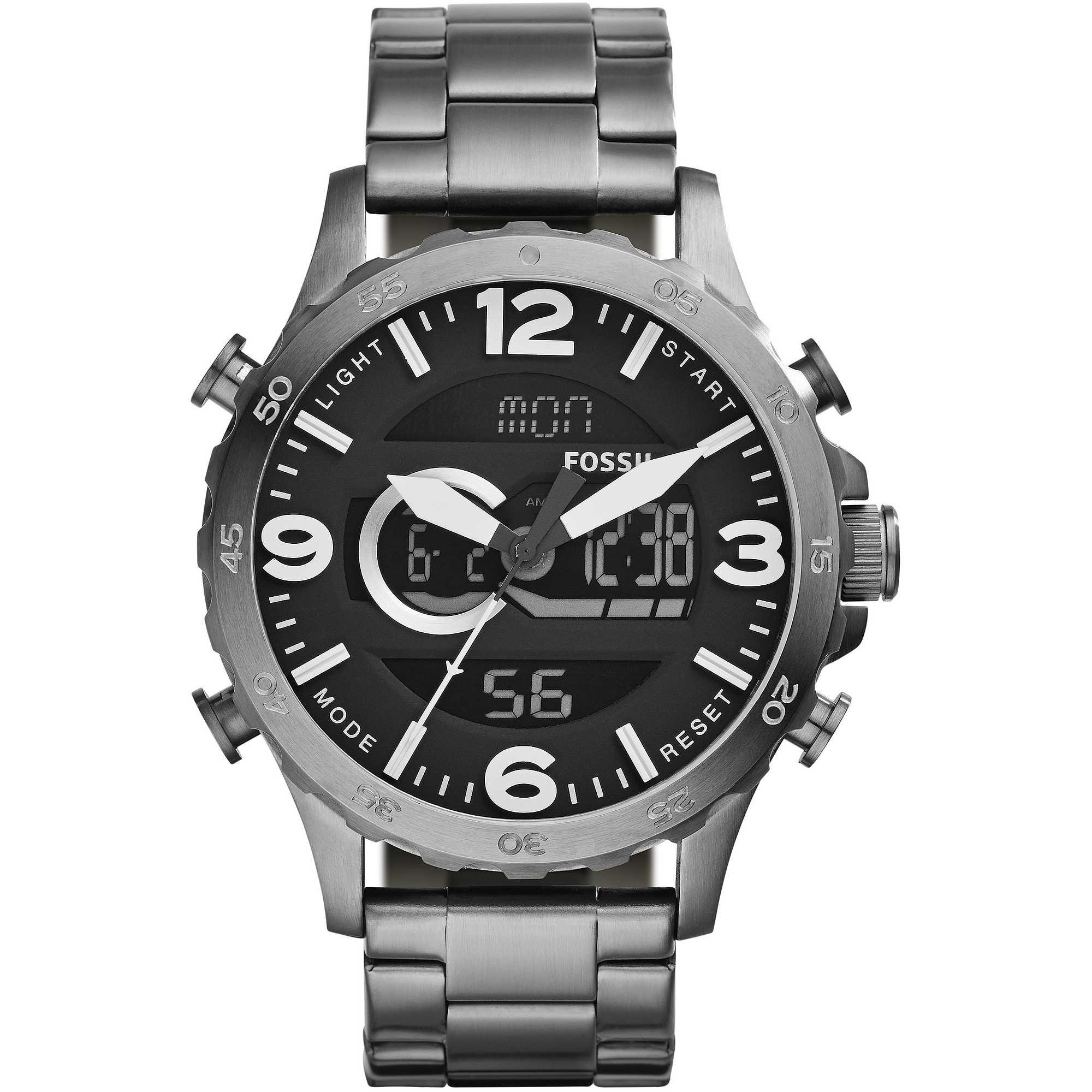 3a1ea6ad968400 orologio digitale uomo Fossil Nate JR1491. zoom ...
