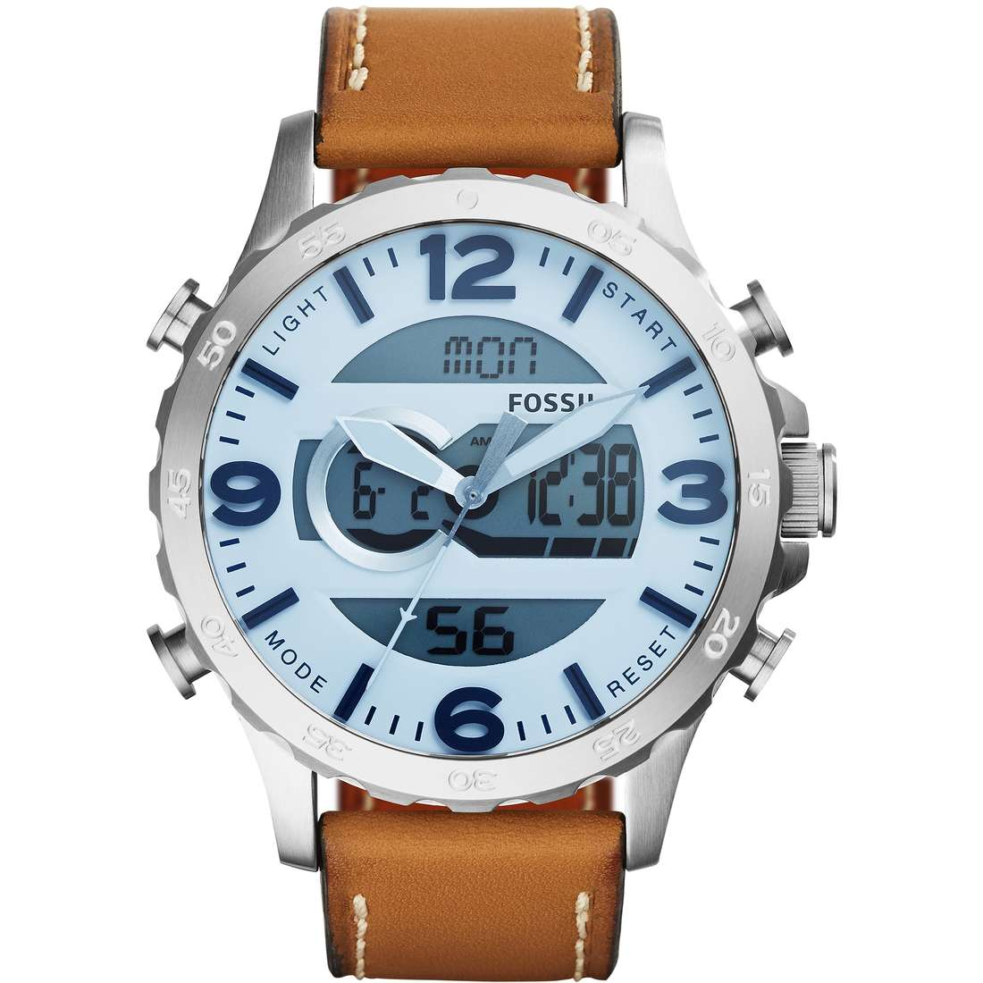 orologio digitale uomo Fossil Nate JR1492
