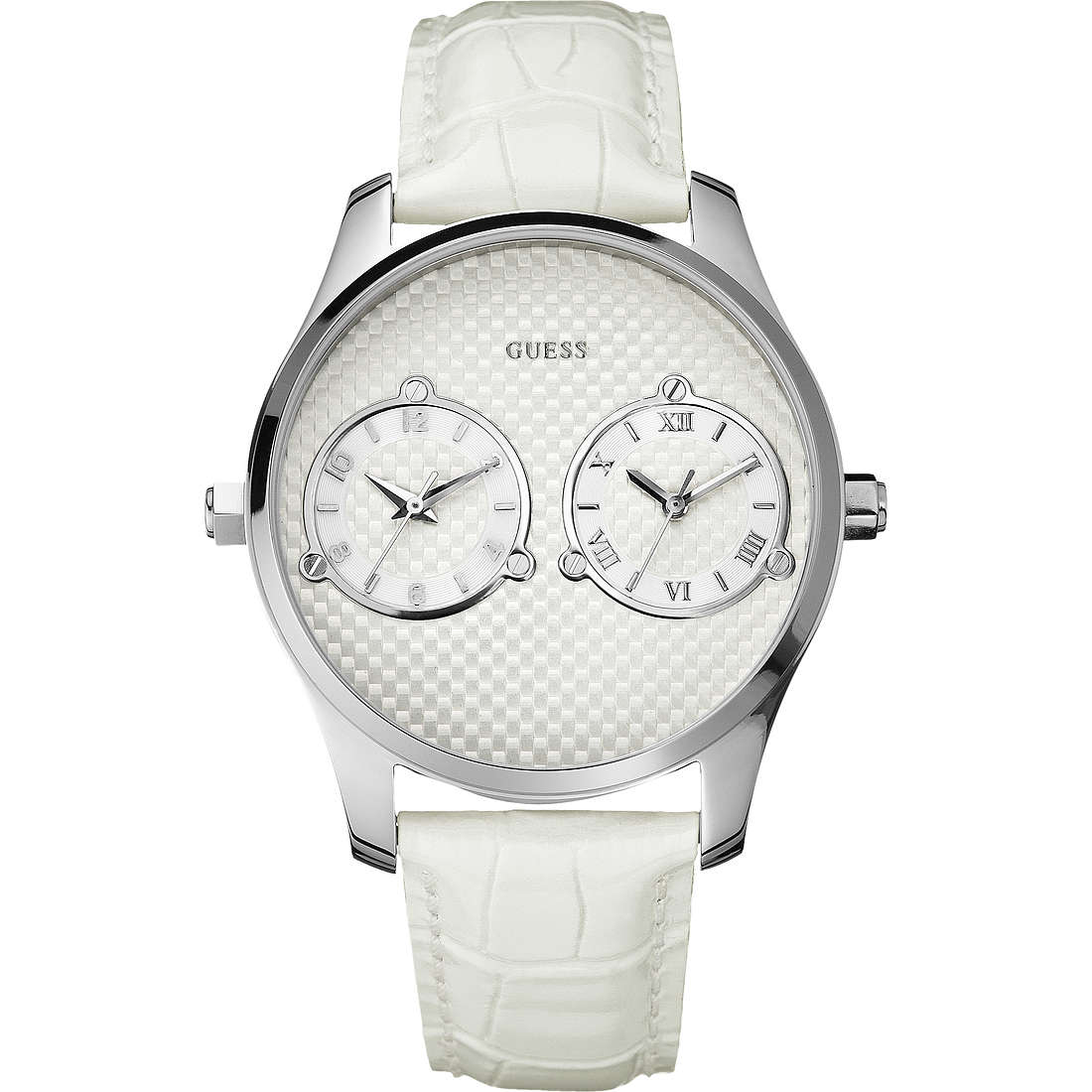 orologio dual time donna Guess W80043G1