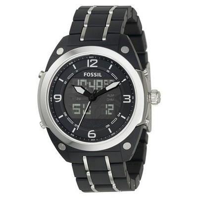 orologio dual time uomo Fossil BQ9381