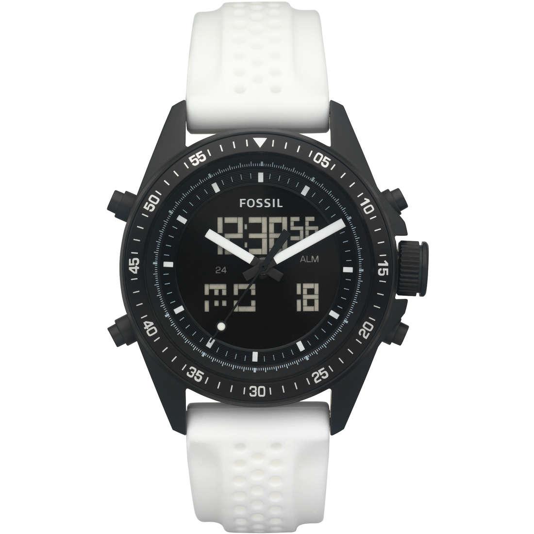 orologio dual time uomo Fossil BQ9415