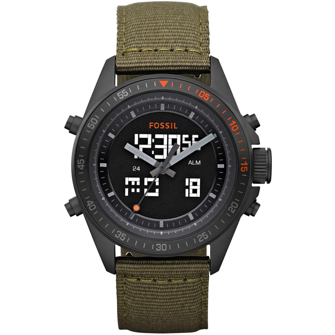 orologio dual time uomo Fossil BQ9416
