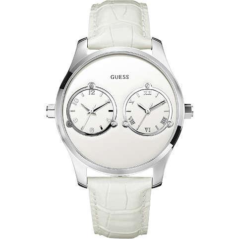 orologio dual time uomo Guess W70004G3