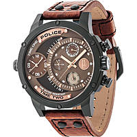 orologio dual time uomo Police Adder R1451253001