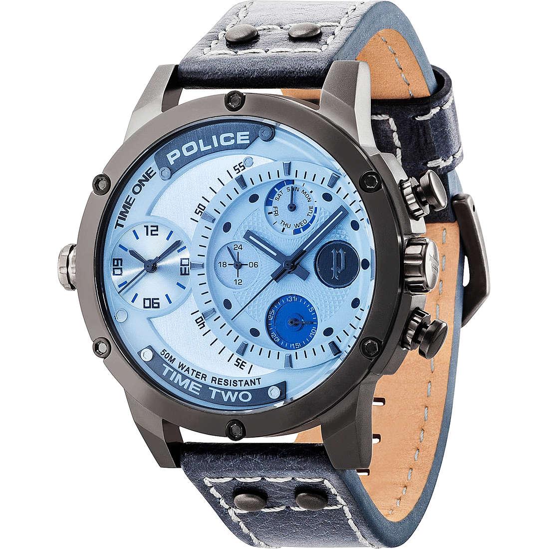 orologio dual time uomo Police Adder R1451253003