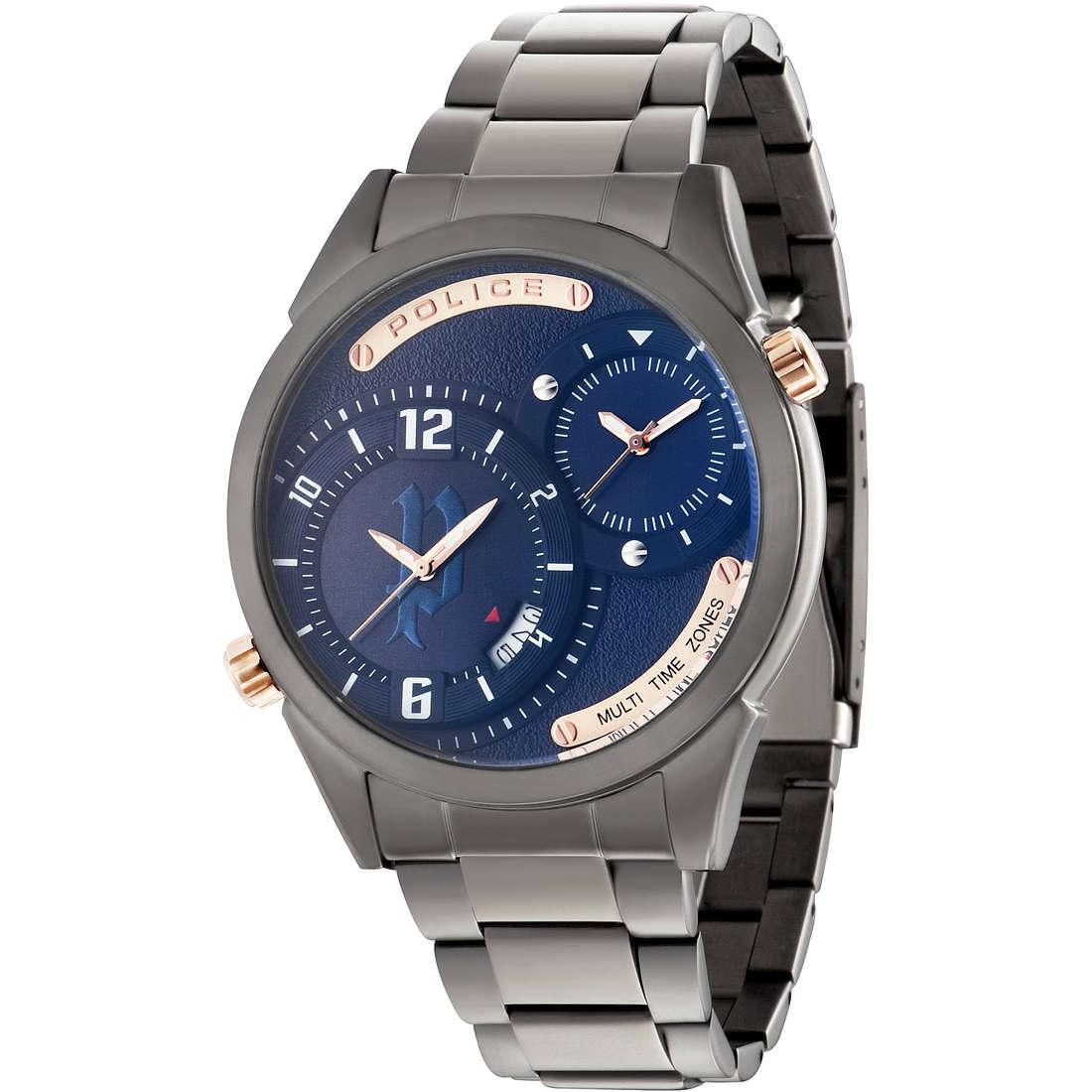 orologio dual time uomo Police R1453257002