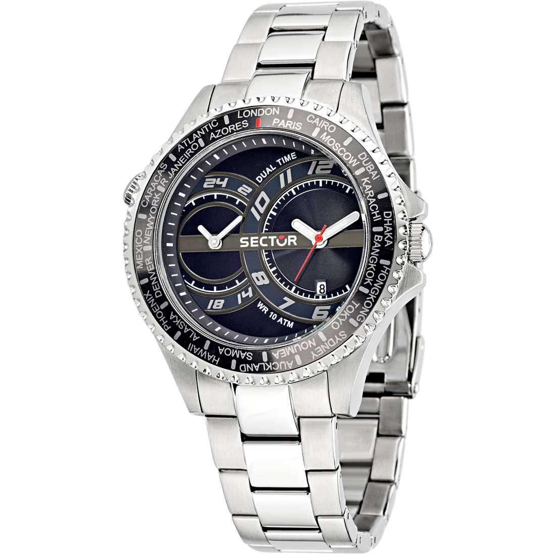 orologio dual time uomo Sector 235 R3253161004