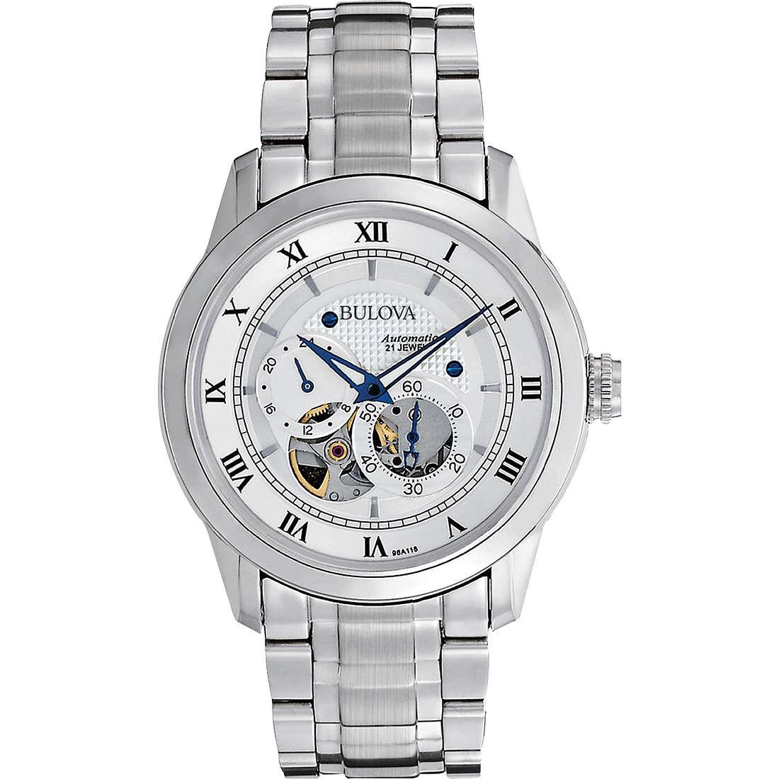orologio meccanico uomo Bulova Bva Series 96A118