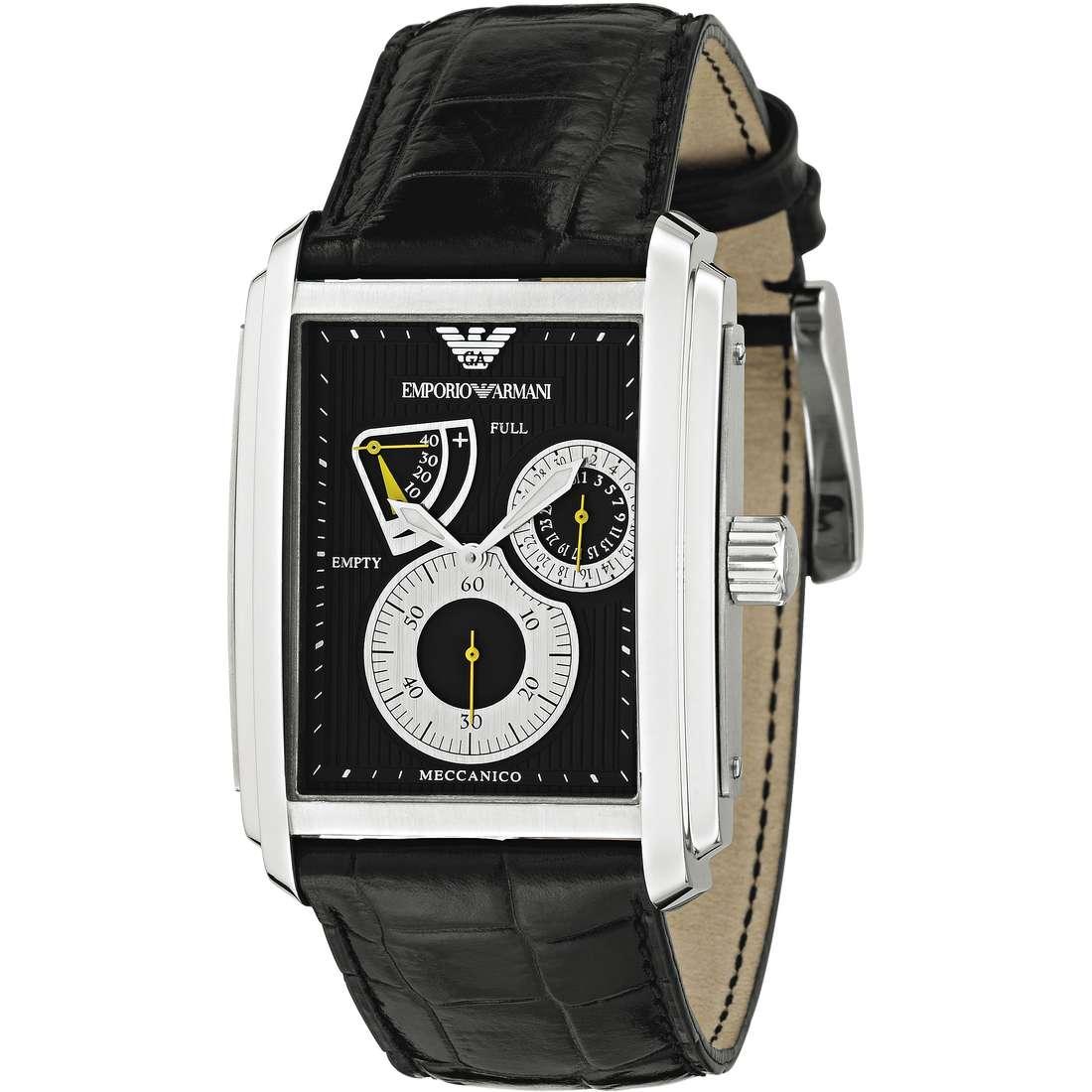 orologio meccanico uomo Emporio Armani AR4203