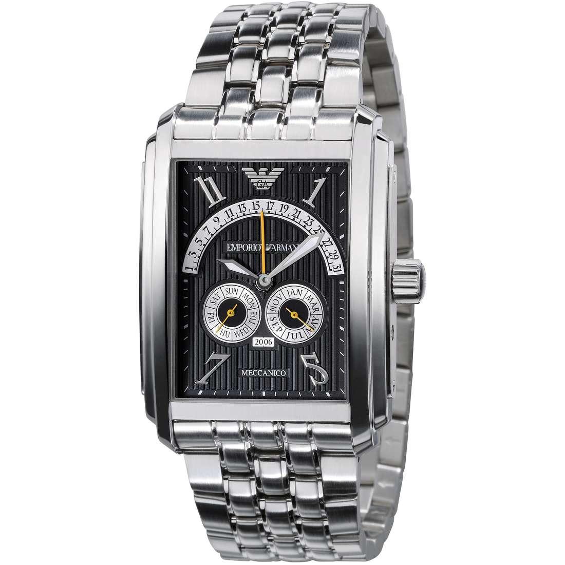 orologio meccanico uomo Emporio Armani AR4218