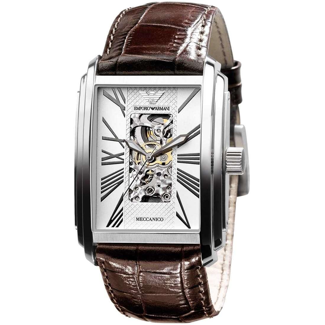 orologio meccanico uomo Emporio Armani AR4225