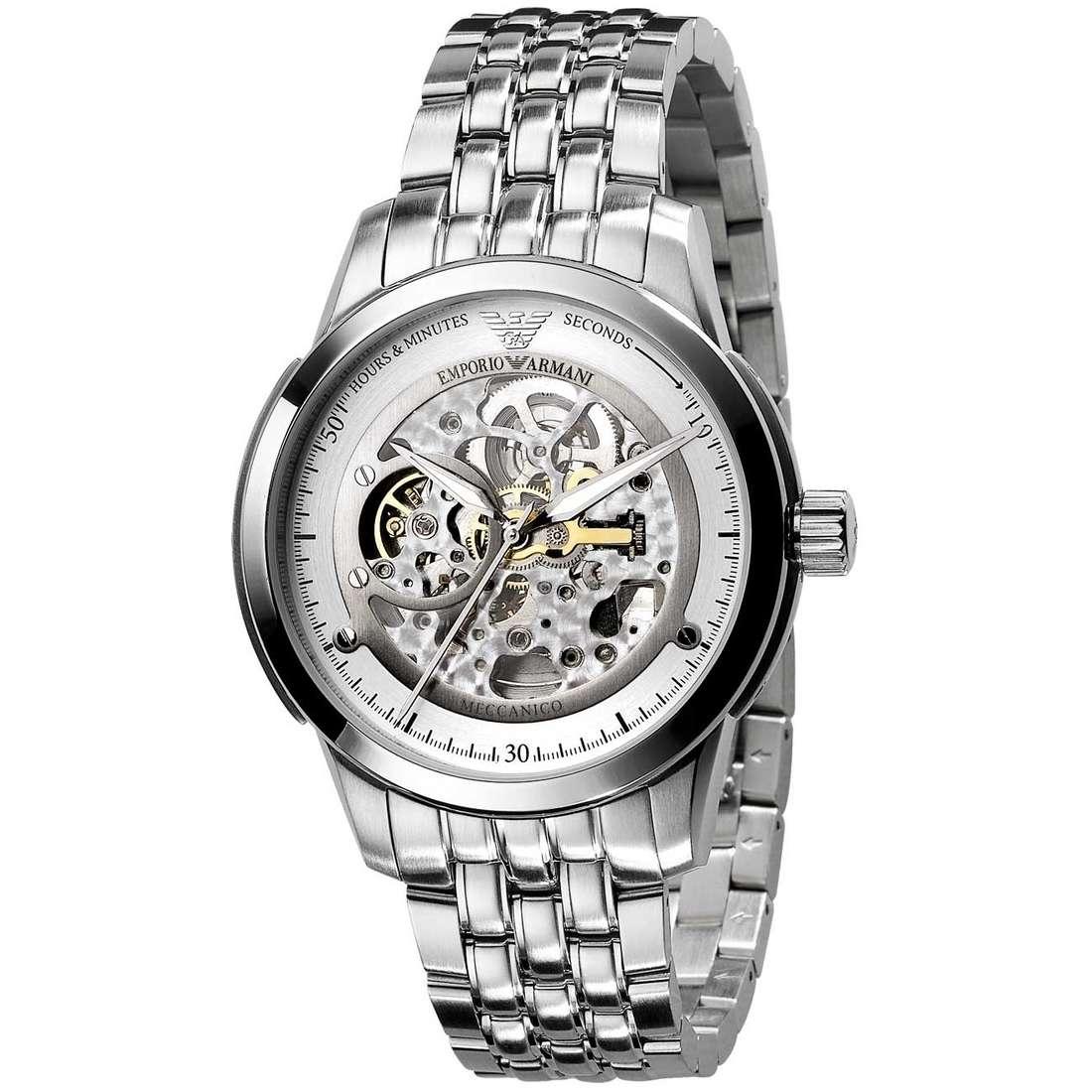 orologio meccanico uomo Emporio Armani AR4626