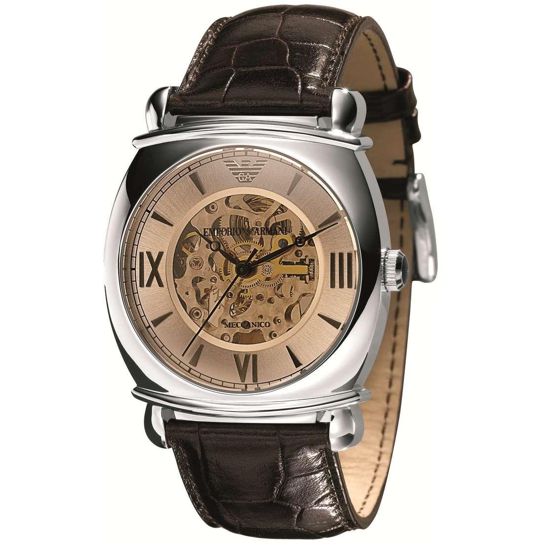 orologio meccanico uomo Emporio Armani AR4634