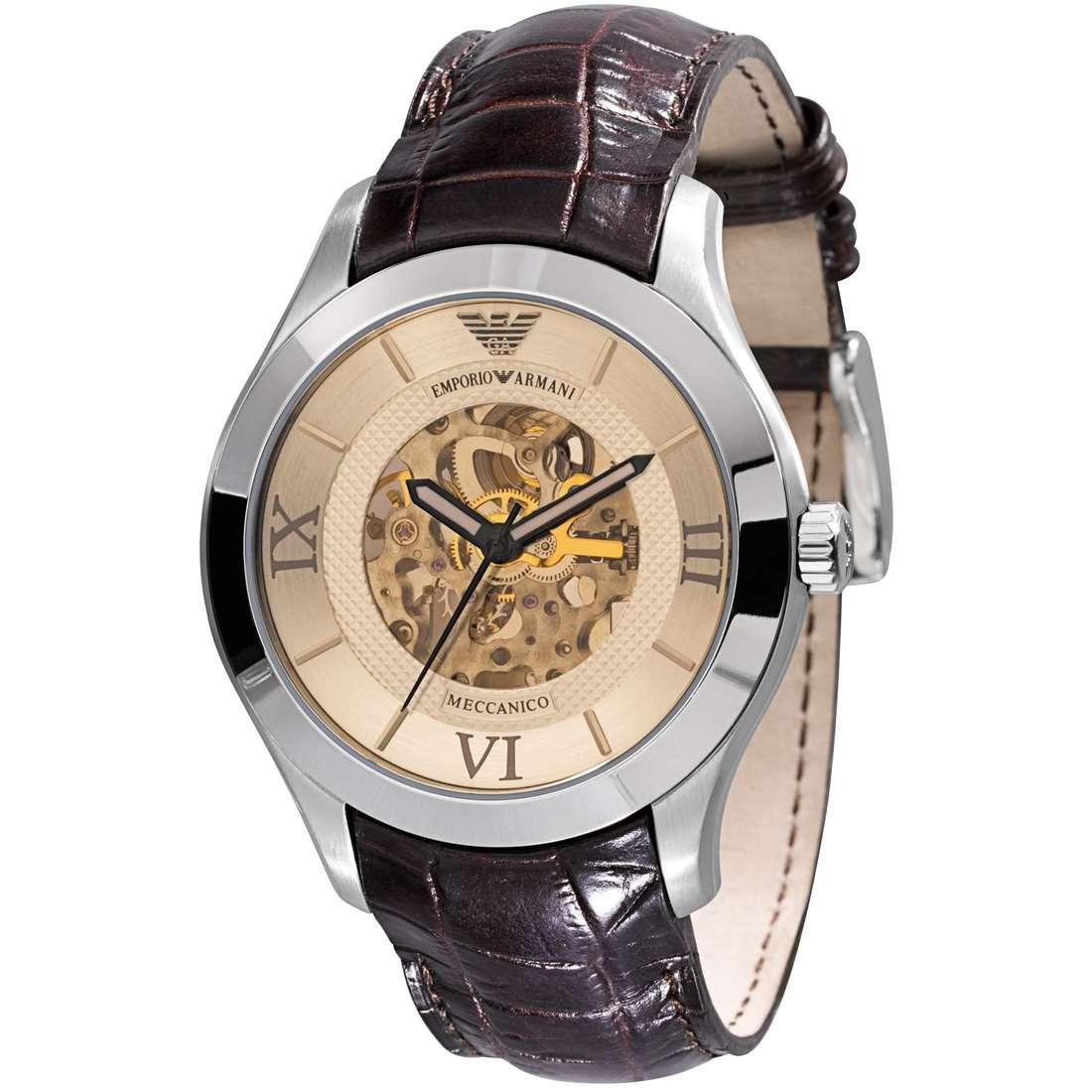 orologio meccanico uomo Emporio Armani AR4646