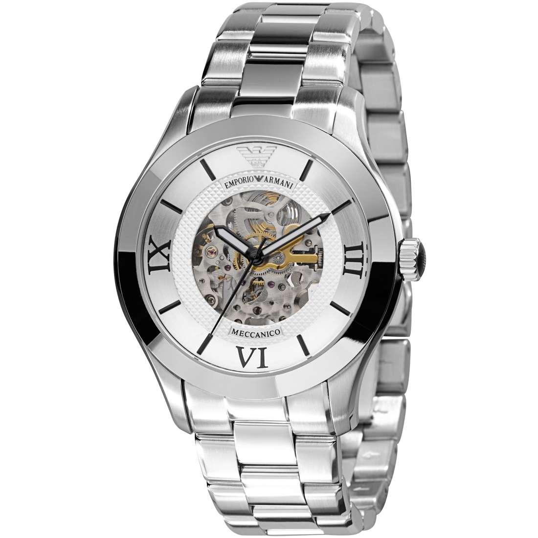 orologio meccanico uomo Emporio Armani AR4647