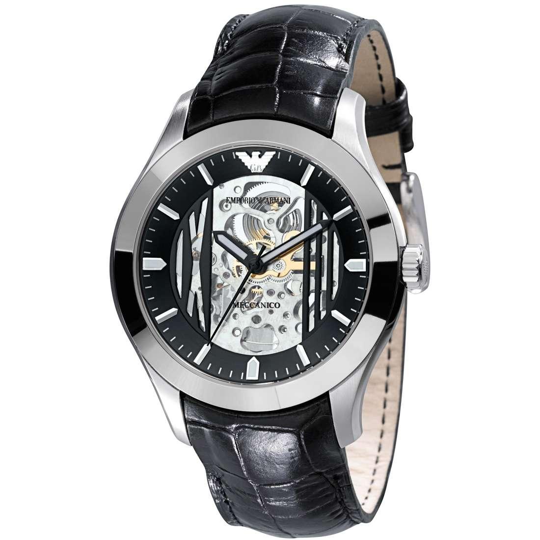 orologio meccanico uomo Emporio Armani AR4648