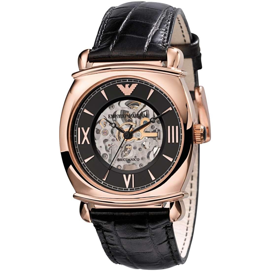 orologio meccanico uomo Emporio Armani AR4649