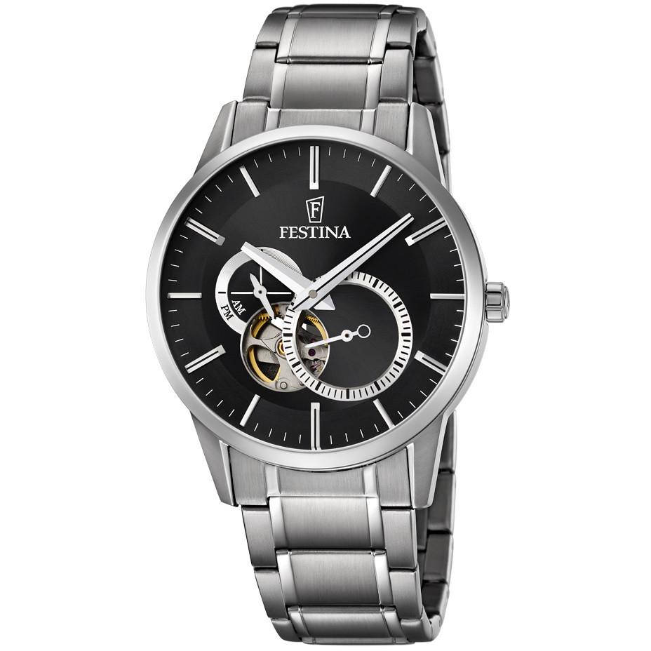 59347d54d9a847 orologio meccanico uomo Festina Automatico F6845/4 meccanici Festina