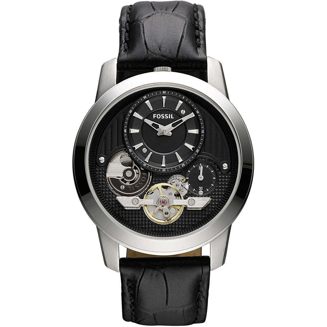 orologio meccanico uomo Fossil ME1113
