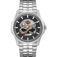 orologio meccanico uomo Harley Davidson 76A158