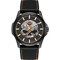 orologio meccanico uomo Harley Davidson 78A118