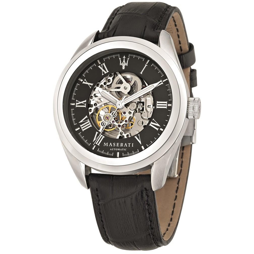 orologio meccanico uomo Maserati Traguardo R8871612001