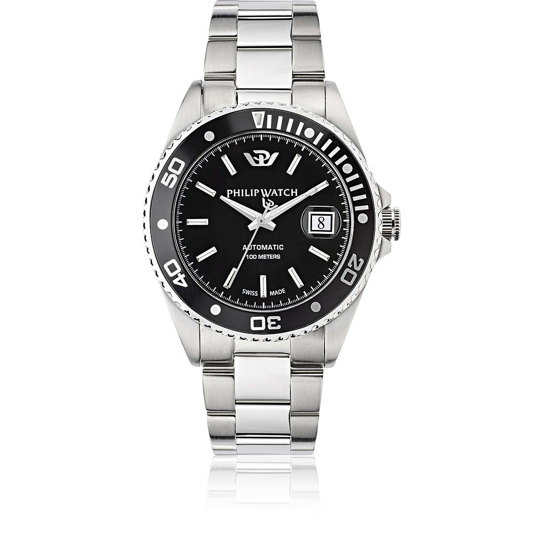 orologio meccanico uomo Philip Watch Caribe R8223597010