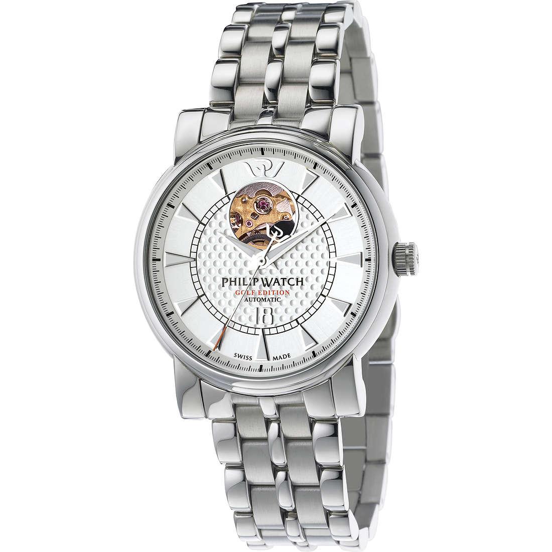 orologio meccanico uomo Philip Watch Wales R8223193001