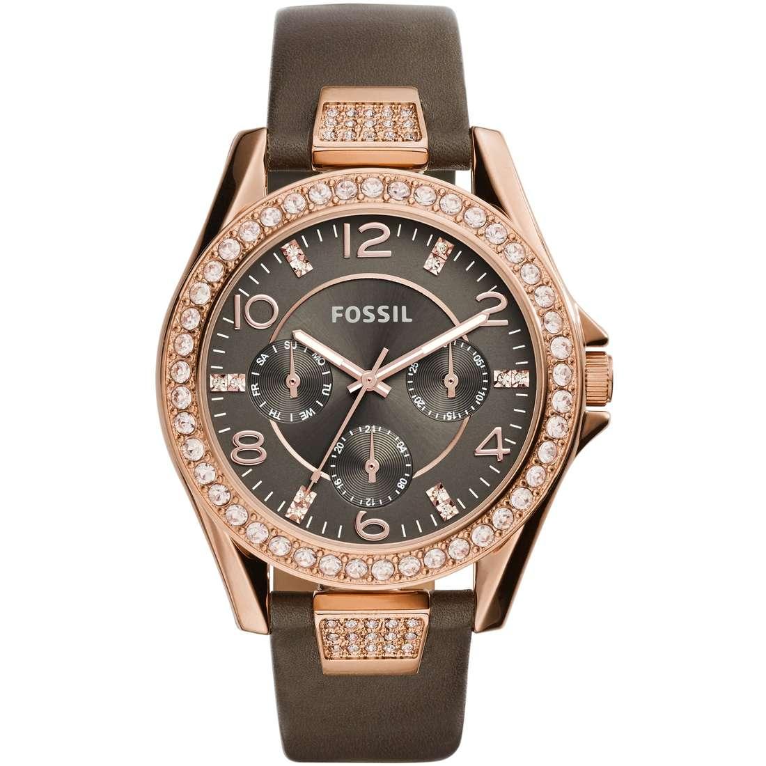 orologio multifunzione donna Fossil Riley ES3888