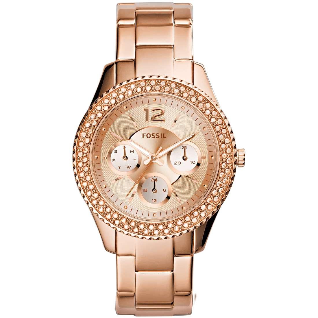 orologio multifunzione donna Fossil Stella ES3590