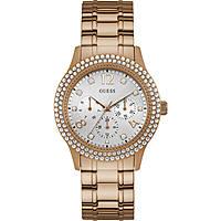 orologio multifunzione donna Guess Bedazzle W1097L3