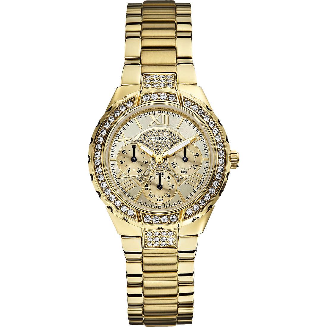 orologio multifunzione donna Guess W0111L2