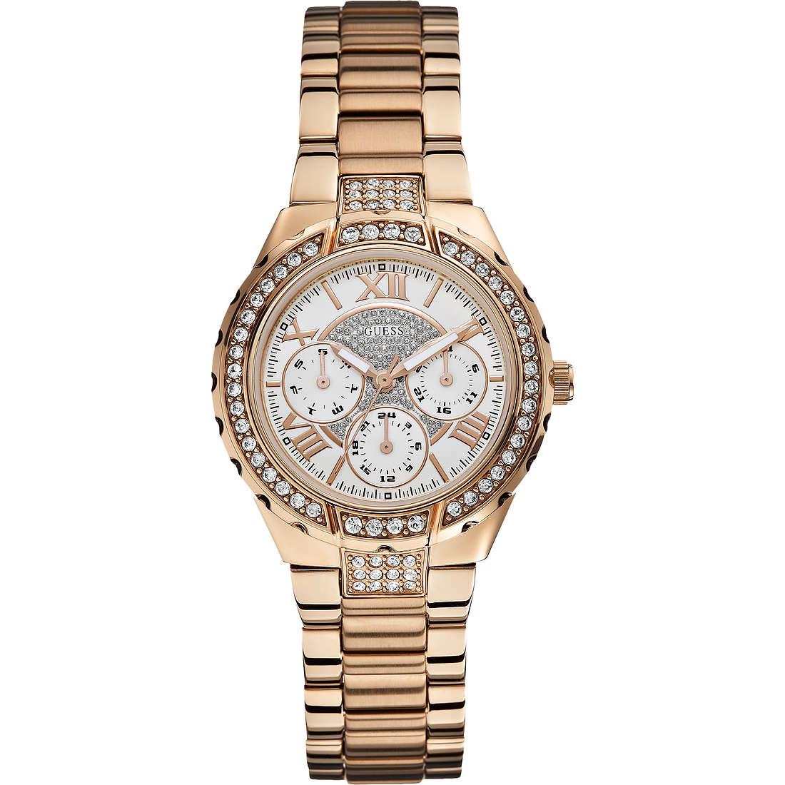 orologio multifunzione donna Guess W0111L3