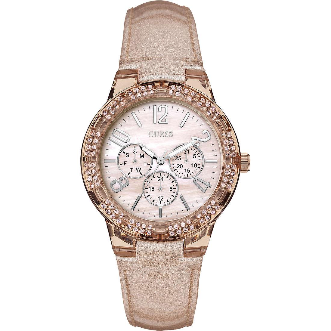 orologio multifunzione donna Guess W0142L1