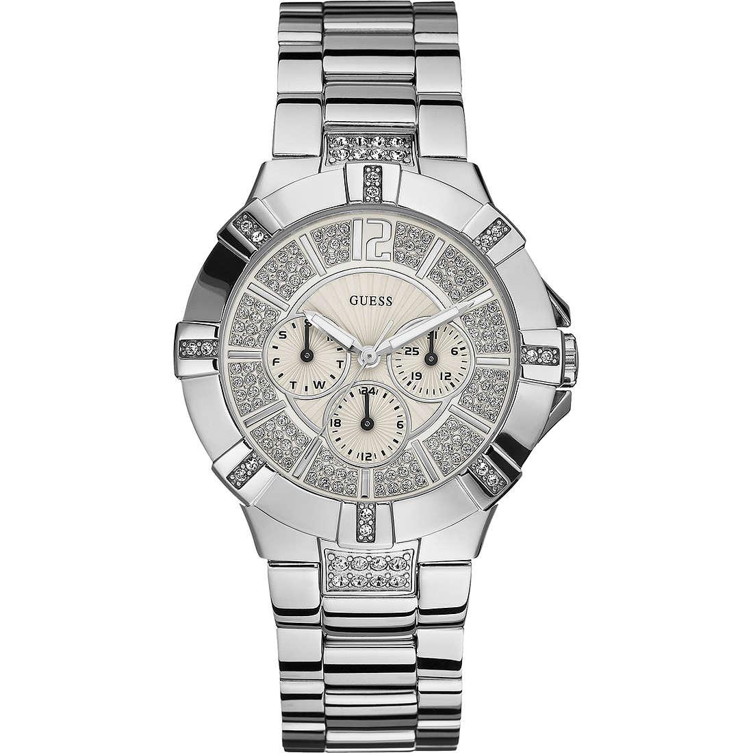 orologio multifunzione donna Guess W12080L1