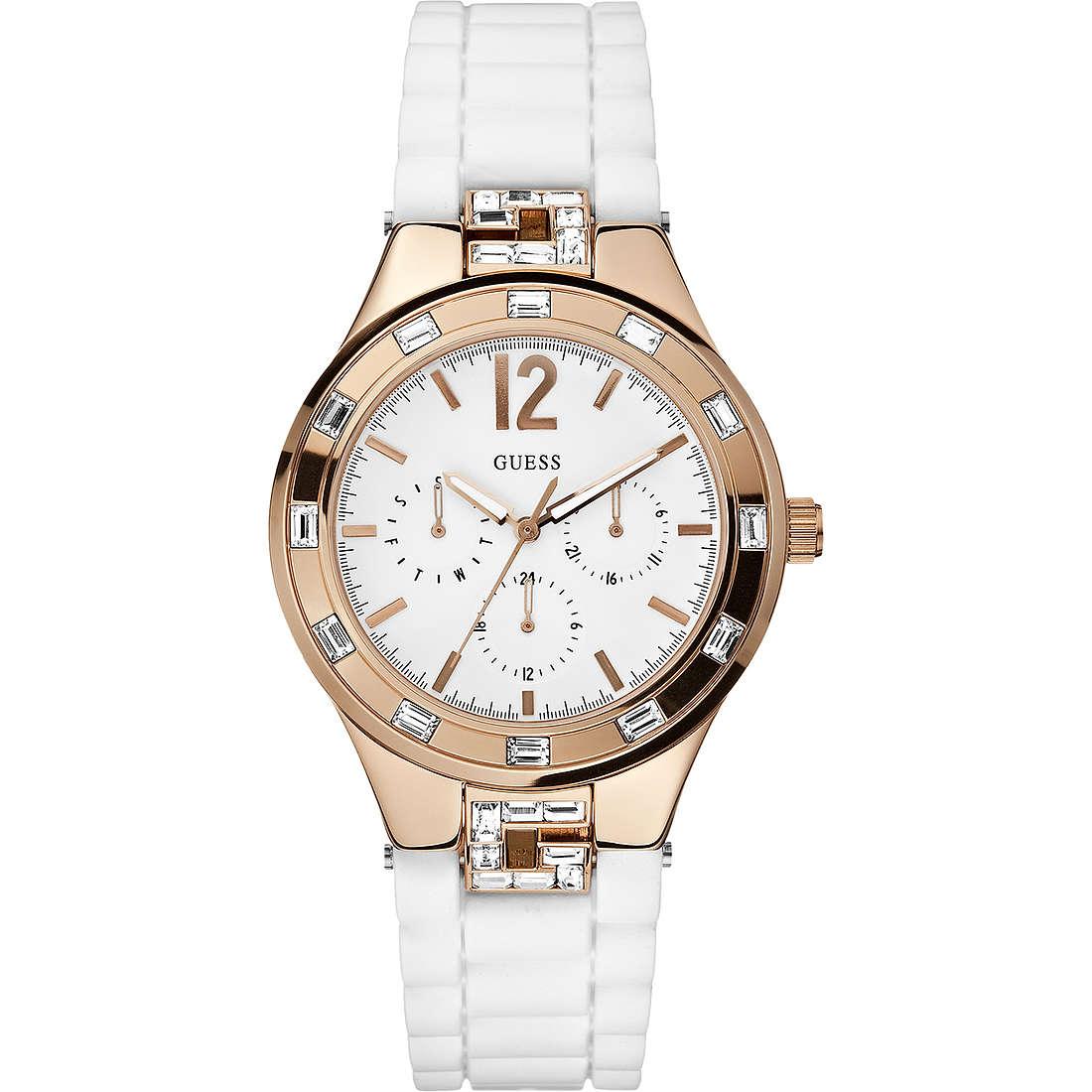 orologio multifunzione donna Guess W12120L1
