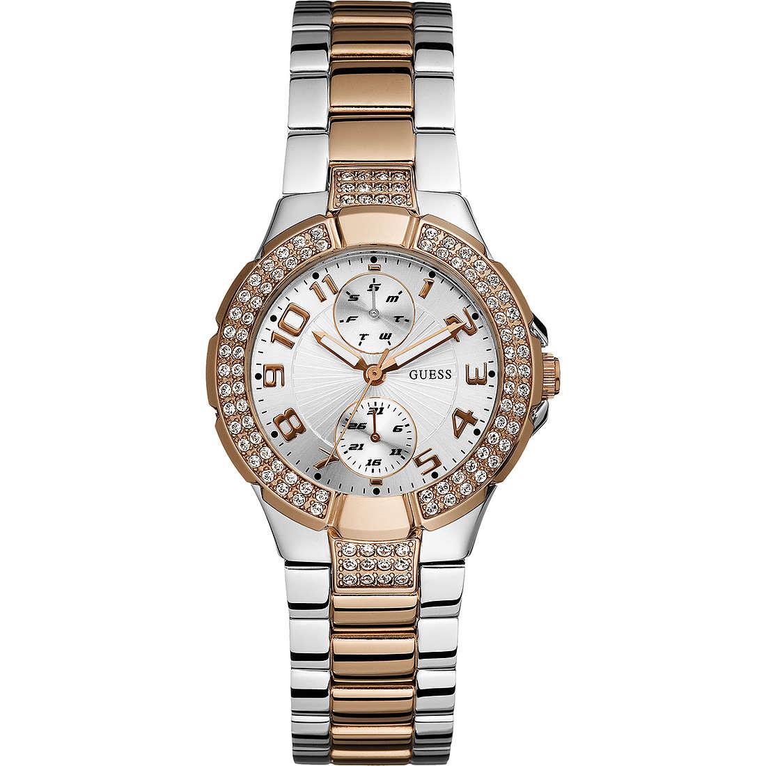 orologio multifunzione donna Guess W15072L2