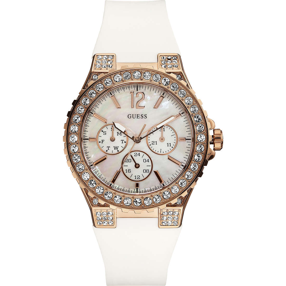 orologio multifunzione donna Guess W16577L1
