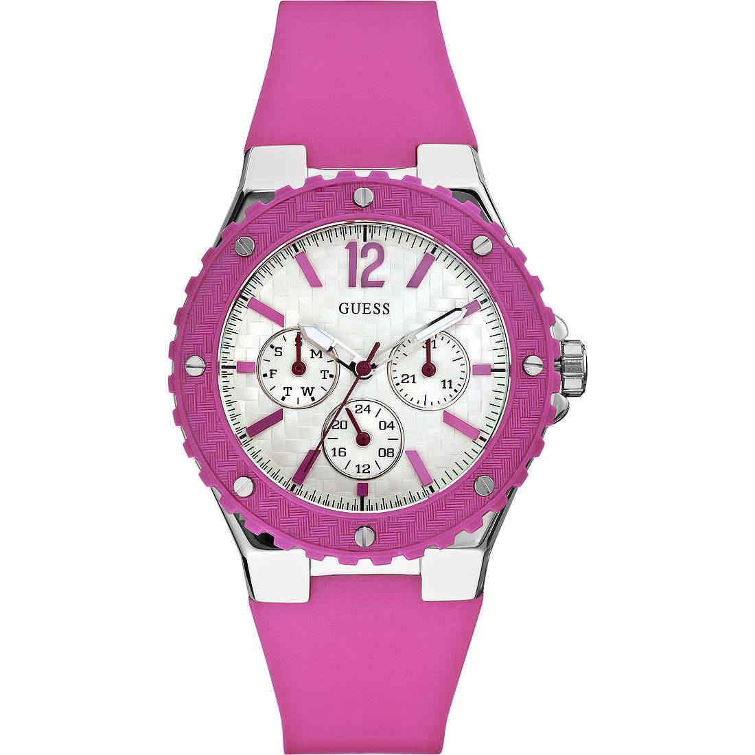 orologio multifunzione donna Guess W90084L2