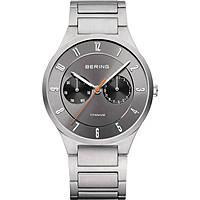 orologio multifunzione uomo Bering Titanium 11539-779