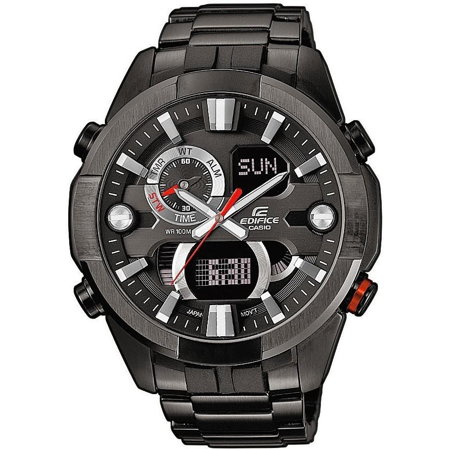 orologio multifunzione uomo Casio EDIFICE ERA-201BK-1AVEF