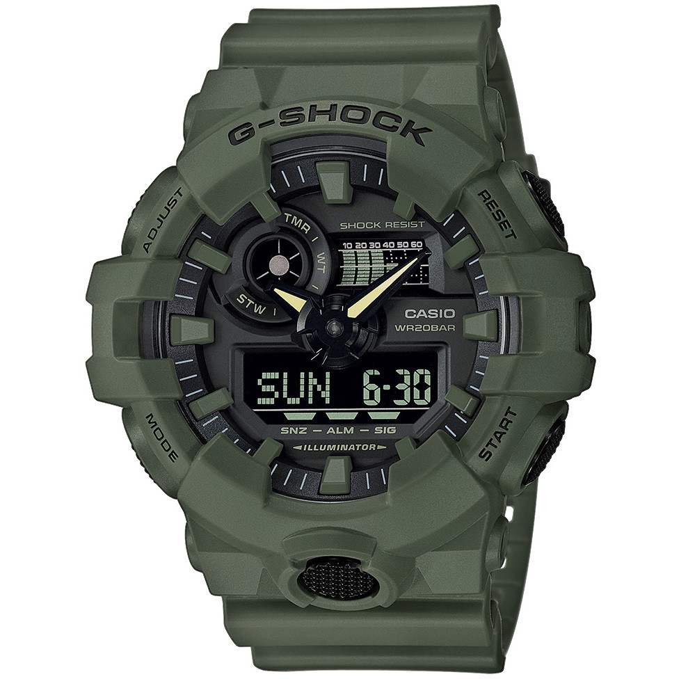 eda529cc63 orologio multifunzione uomo Casio G-Shock GA-700UC-3AER. zoom
