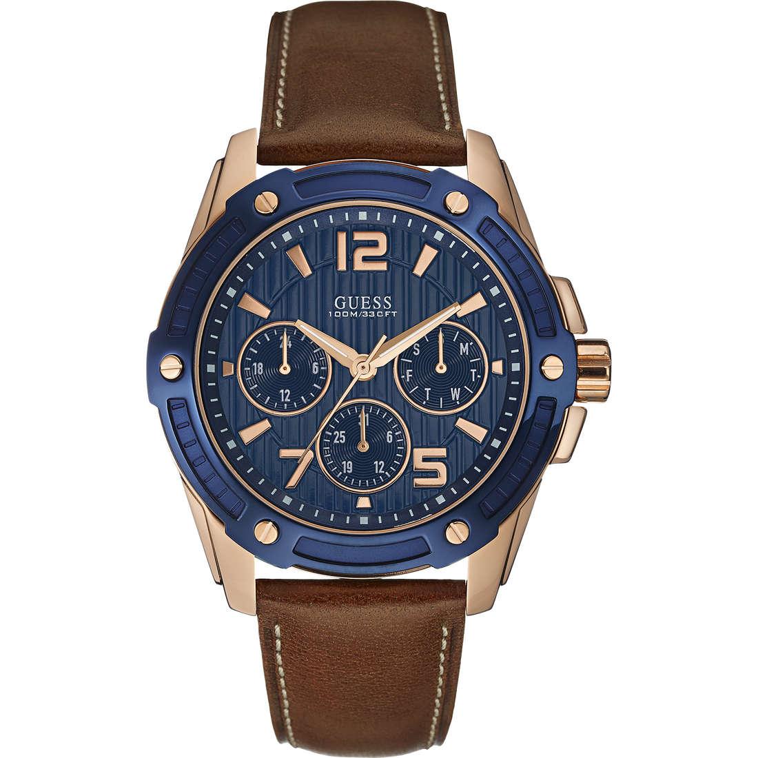 orologio multifunzione uomo Guess Flagship W0600G3