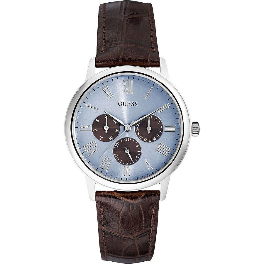 orologio multifunzione uomo Guess Ice Blue W0496G2