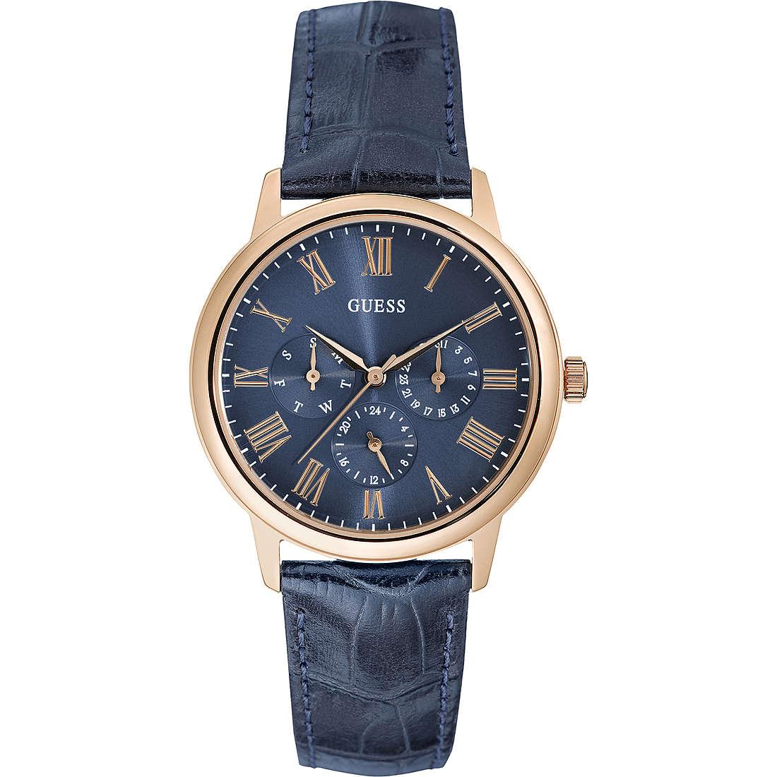 orologio multifunzione uomo Guess Rose Gold W0496G4