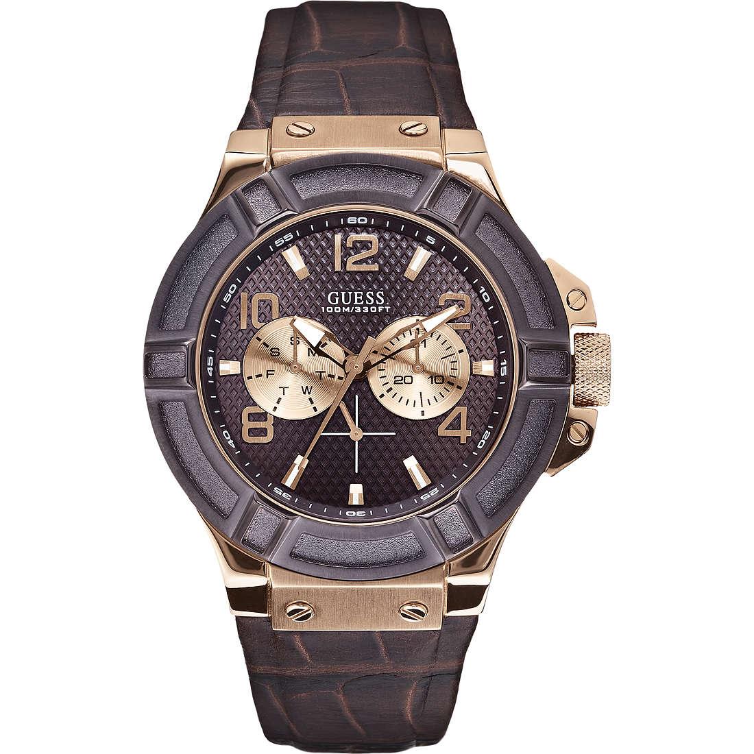orologio multifunzione uomo Guess W0040G3